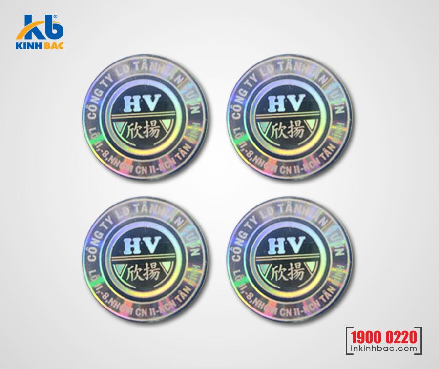 In tem 7 màu - BKB04