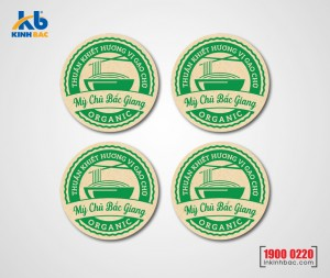 In tem Decal giấy Kraft - DGK4