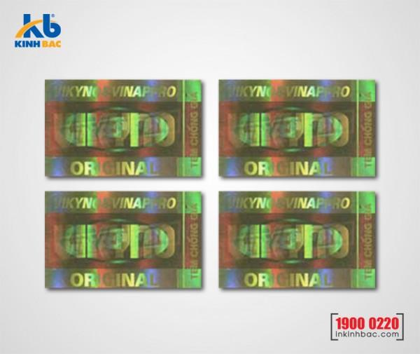 In tem 7 màu - BKB03