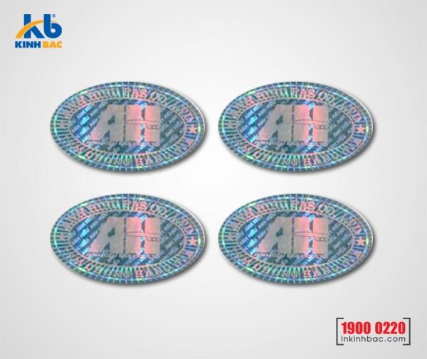 In tem 7 màu - BKB05