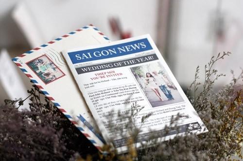 Thiệp cưới in ảnh – sang trọng và dấu ấn riêng